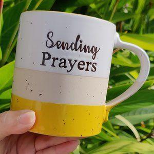 "NWT - ""SENDING PRAYERS"" COFFEE MUG"